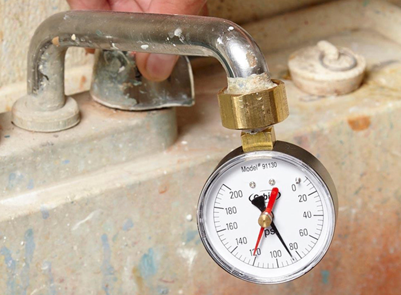 Check for High Water Pressure or Wreck Fixtures and Appliances